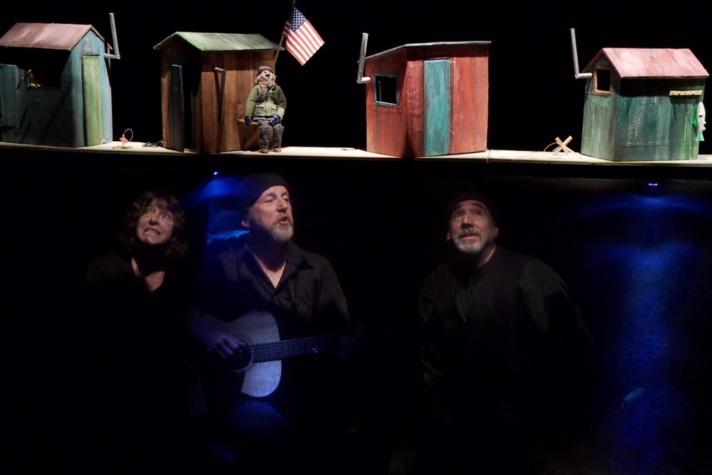 'All Weather Ballads' (Sandglass Theater). (Richard Termine '78 MFA)