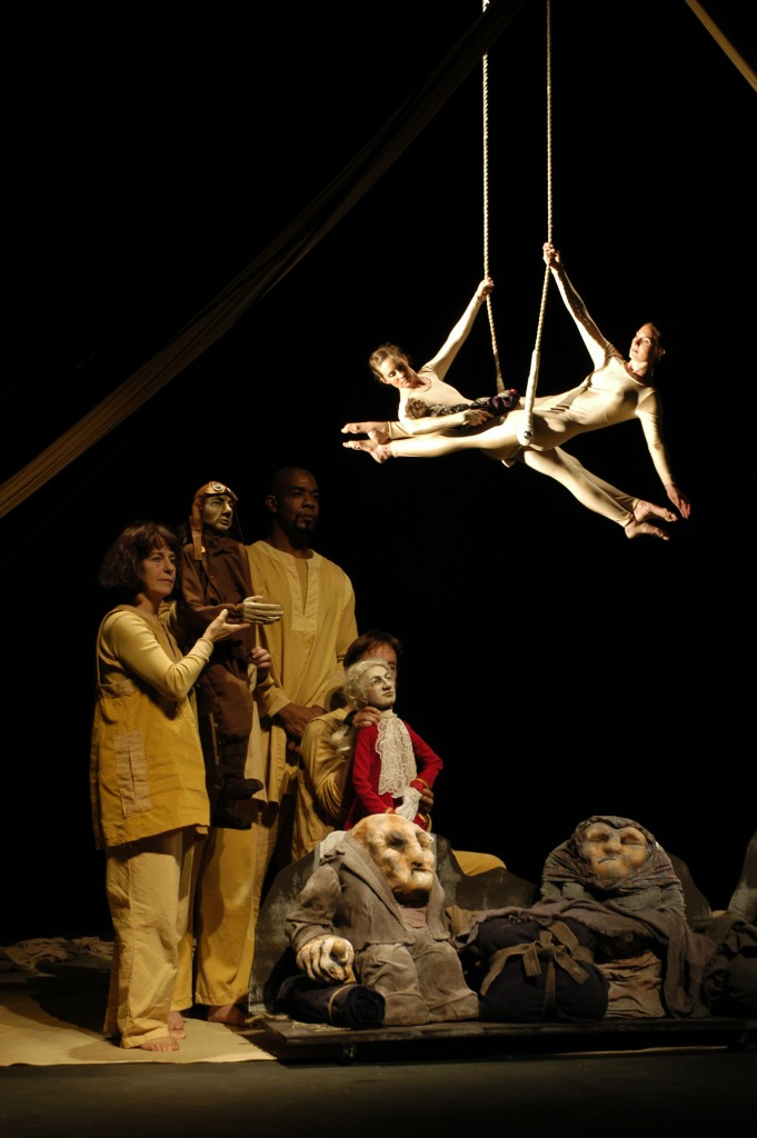 Tableau from 'Between Sand and Stars' (Sandglass Theater, 2005). (Richard Termine '78 MFA)