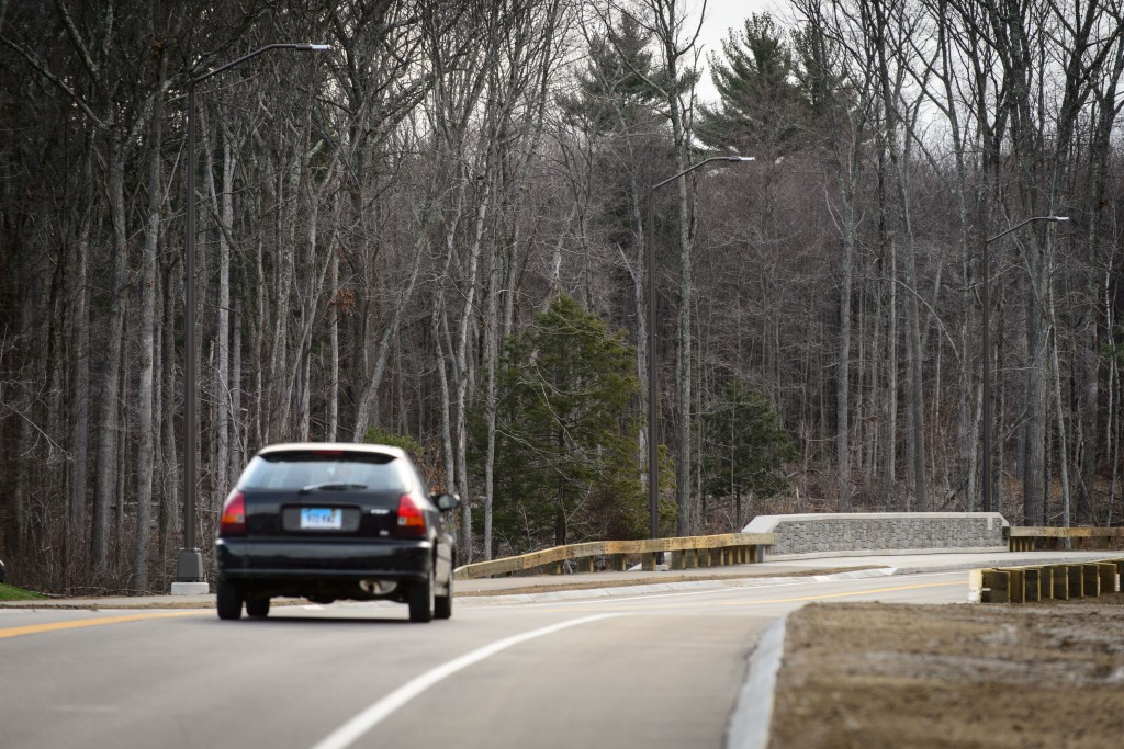 Discovery Drivewill provide access to Tech Park and reduce traffic congestion. (Peter Morenus/UConn Photo)