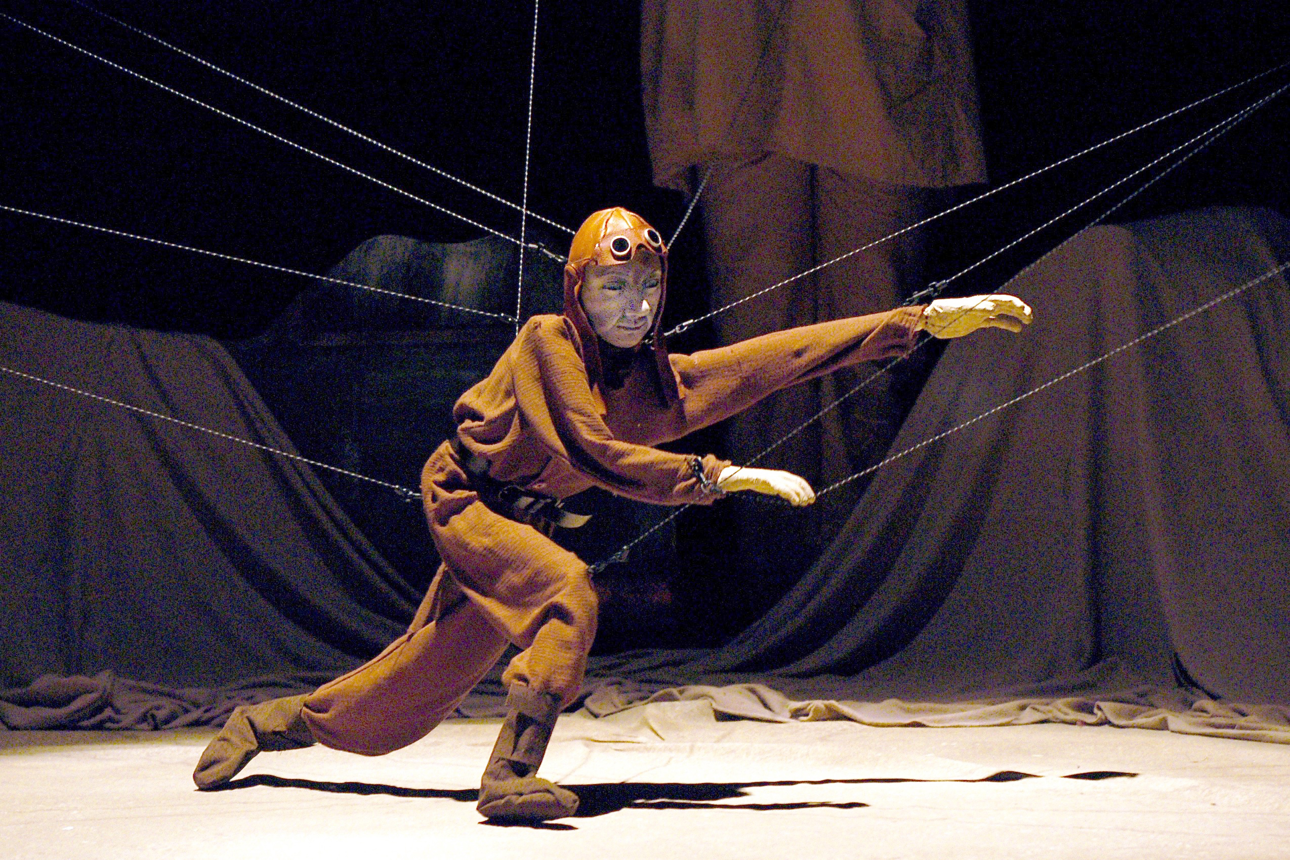 Pilot, from 'Between Sand and Stars' (Sandglass Theater, 2005). (Richard Termine '78 MFA)