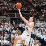 Breanna Stewart '16 (CLAS) is the only collegiate athlete among 25 finalists for the 2016 U.S. Olympic Women's Basketball Team. (Stephen Slade '89 (SFA) for UConn)