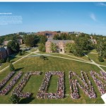 UConn Magazine, January 2016, class photo. (Elizabeth Caron/UConn Photo)