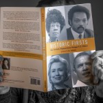 A book by UConn associate professor of political science Evelyn M. Simien, Historic Firsts: How Symbolic Empowerment Changes U.S. Politics on Jan. 22, 2016. (Sean Flynn/UConn Photo)