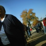 An African-American woman stands in line to vote. (iStock Photo)