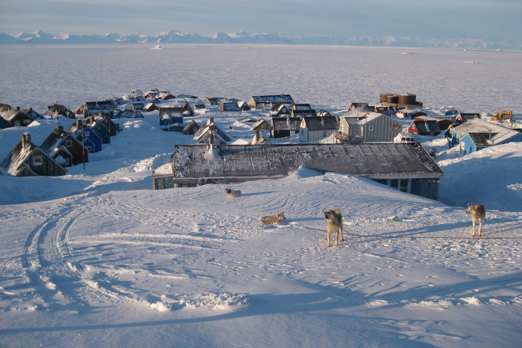 A research station in Greenland. (Photo courtesy of Melissa McKinney)
