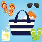 Paraphernalia for a day at the beach. (iStock Image)