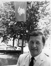 Homer D. Babbidge Jr., University President 1962-1972.