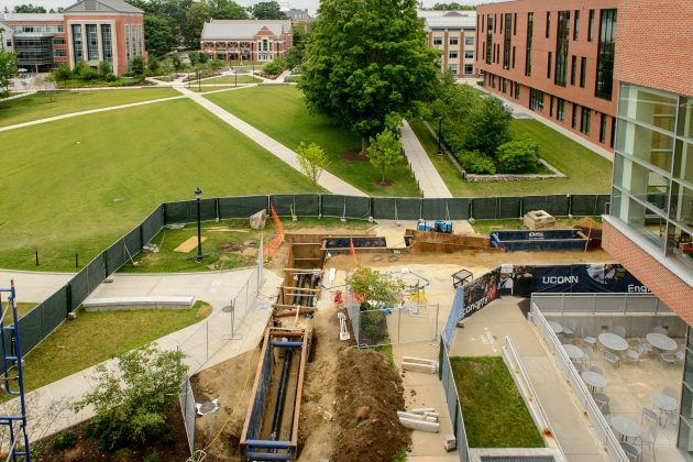 Major Infrastructure Work Underway at UConn