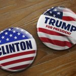 Presidential campaign buttons. (iStock Photo)