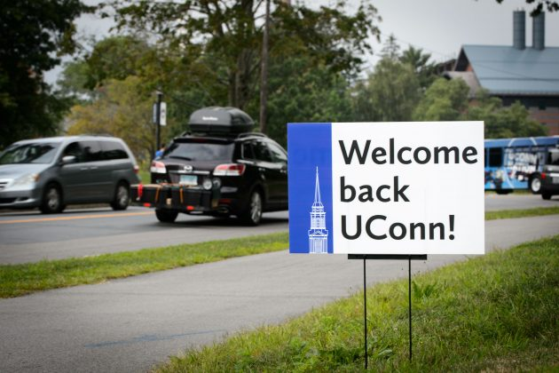 Students Returning to UConn's Campuses This Week