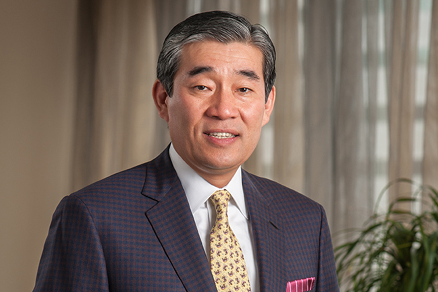 John Kim '87 MBA. (UConn Photo)
