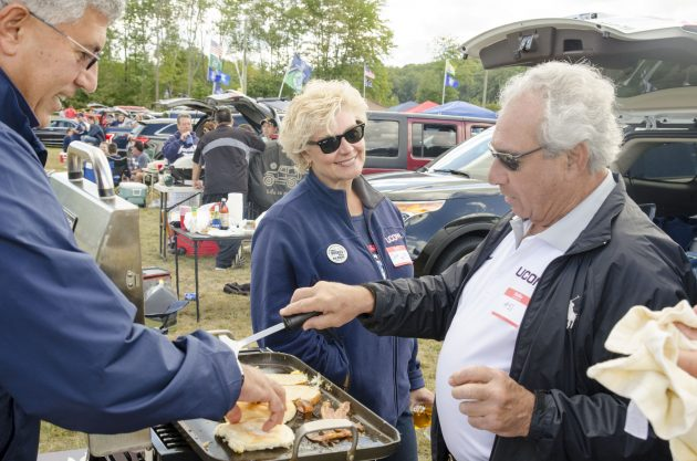 For UConn Football Fans, Tailgating Steeped in Tradition