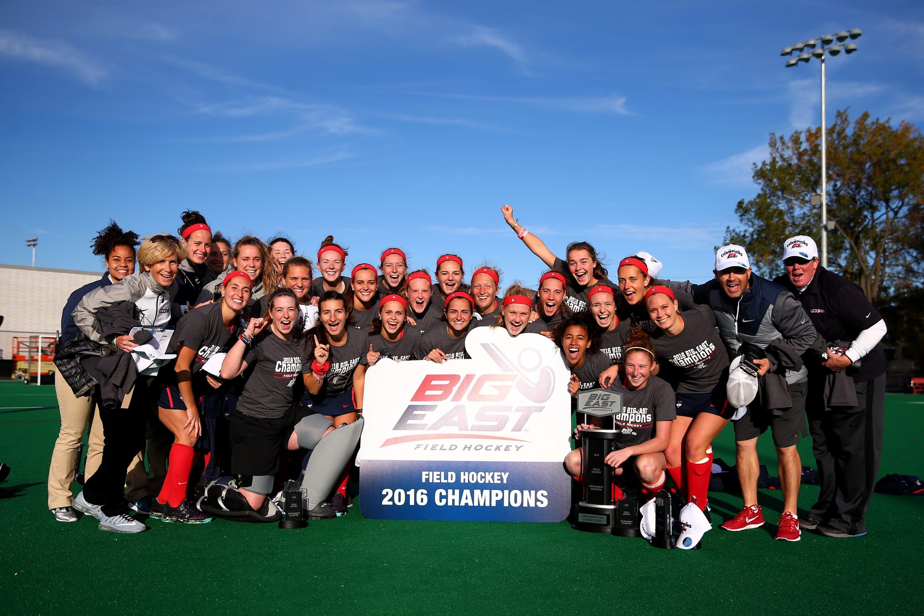 UConn defeated Liberty 3-2 to claim its fifth-straight Big East Tournament title, and will go on to play Boston College in the first round of the NCAA Tournament on Saturday. (Courtesy of Big East)