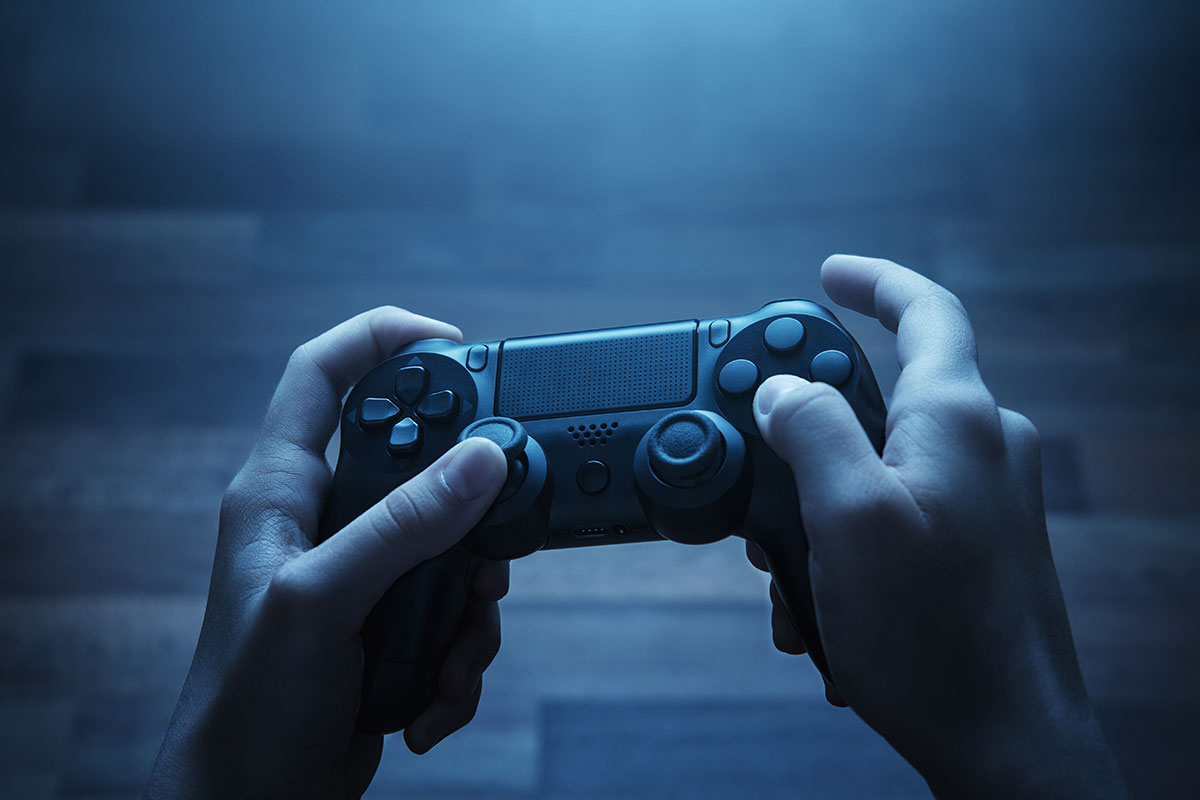 Video game controller. (Shutterstock Photo)