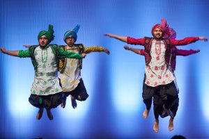 Husky Bhangra performs during Asian Nite. (Peter Morenus/UConn Photo)