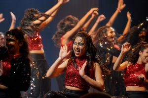 UConn Surya performs during Asian Nite. (Peter Morenus/UConn Photo)
