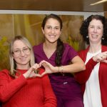 ICU Goes Red for Women