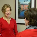 Pres. Susan Herbst Raises Awareness of Heart Disease