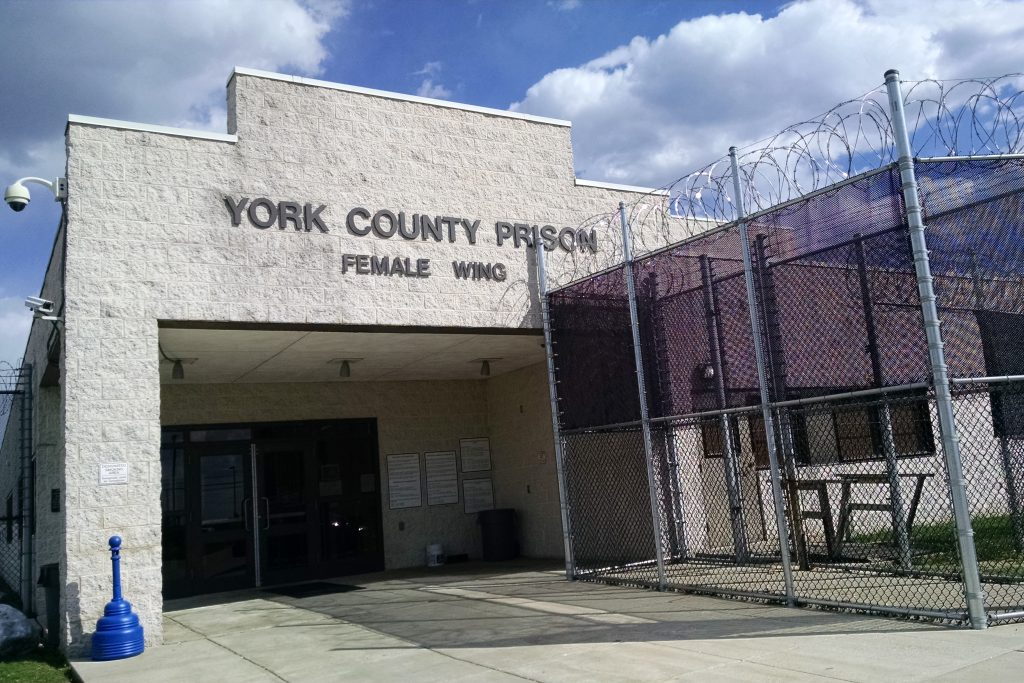 York County Prison, Pa., where a team from UConn Law's Asylum Clinic will spend spring break assisting applicants for asylum. (Courtesy of UConn Law)
