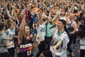The 2017 HuskyTHON dance marathon.