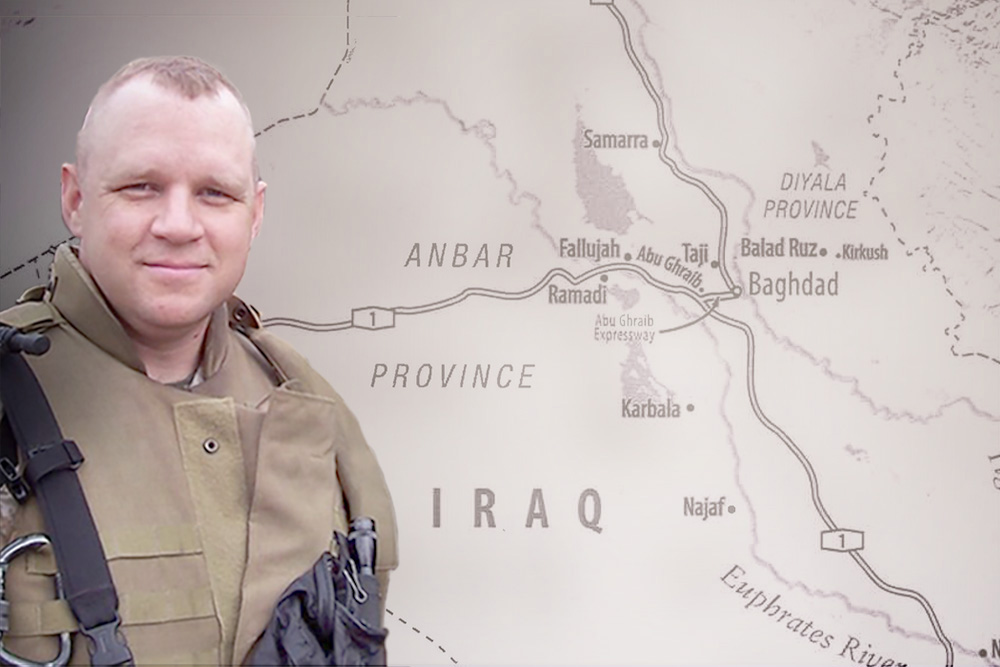 UConn's Michael Zacchea: Leading the Iraqi Army Fifth Battalion