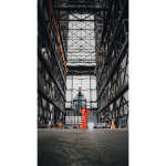 The Vehicle Assembly Building from the inside.