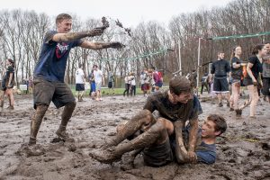 OOzeball at North Campus on April 22. (Sean Flynn/UConn Photo)