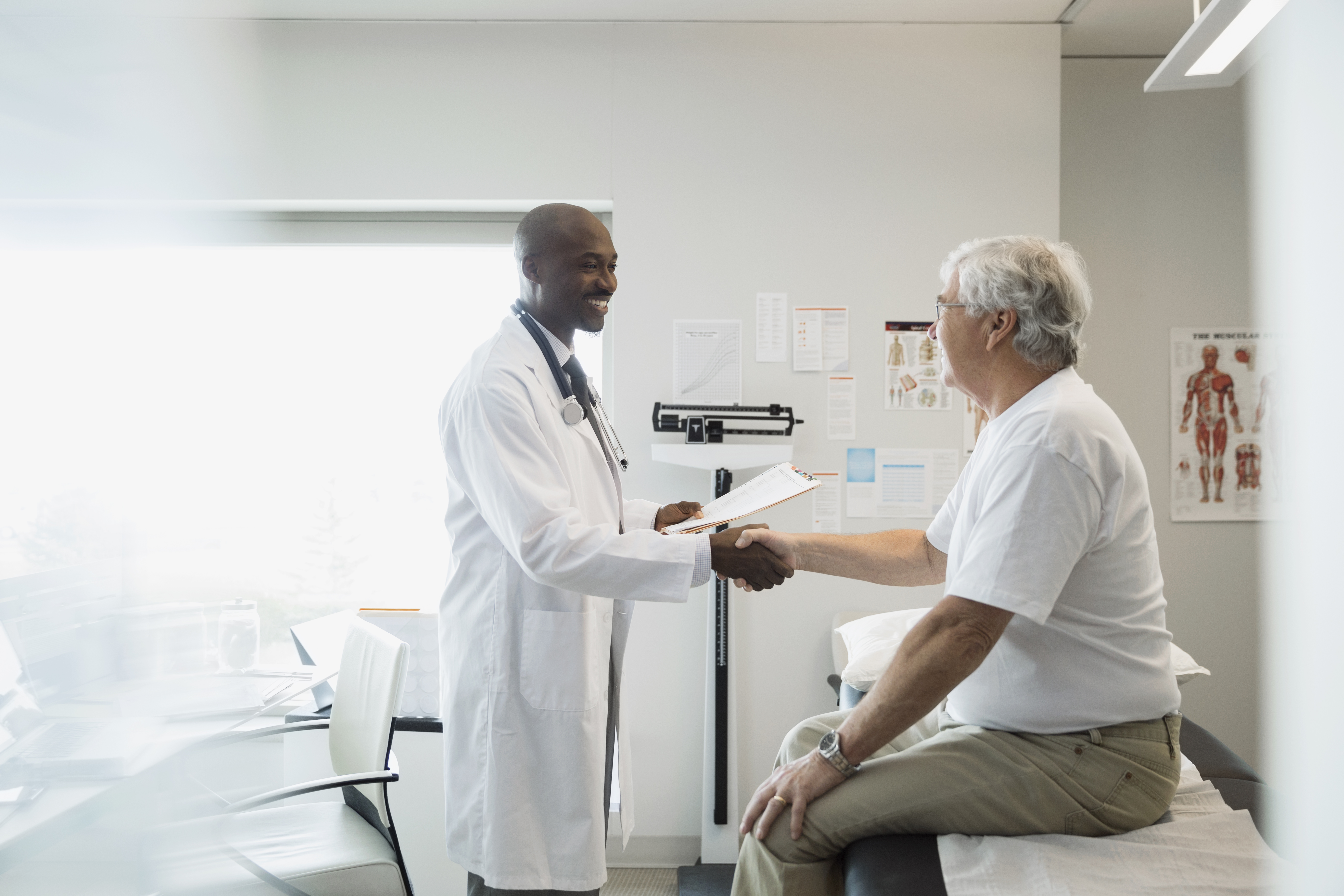 African-American men make up just 2.8 percent of the applicants to medical school.