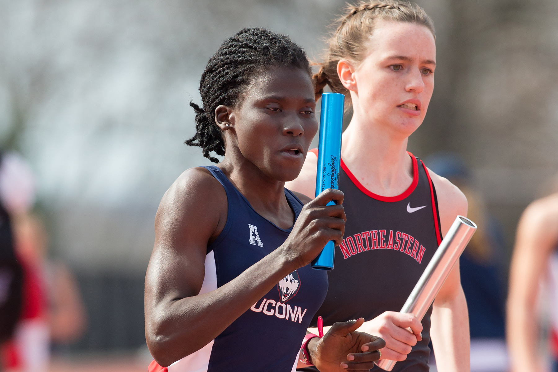 Sophomore Susan Aneno is traveling this week to Eugene, Ore. to compete in the NCAA Division I Outdoor Track and Field Championships. (J.J. Clark/UConn Photo)