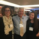 Connecticut Writing Project participants at a National Writing Project Spring Meeting in Washington, D.C. From left: Danielle Pieratti, English teacher at South Windsor High School and Writing Program Leader for the CWP; Jeffrey D. Wilhelm, professor of English Education and director of the Boise State Writing Project; and Elizabeth Simison, English teacher at Bacon Academy in Colchester and adjunct in English at UConn.
