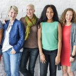 A multi-ethnic group of women. (Shutterstock Photo)